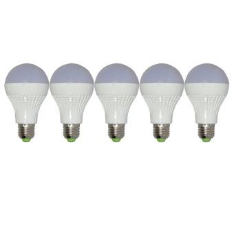 Bộ 5 bóng đèn LED 9W ánh sáng vàng nắng