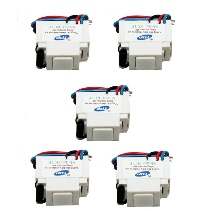 Bảng giá Mua Bộ 5 công tắc điều khiển từ xa sóng RF mặt PANASONIC TPE RC1P