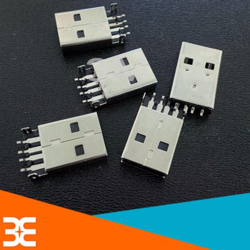 Bảng giá Bộ 5 Cổng USB A Đực Chân Dán 4P V2