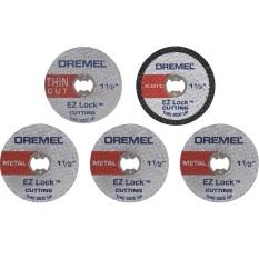 Bộ 5 đĩa cắt 38 mm EZ Lock Dremel