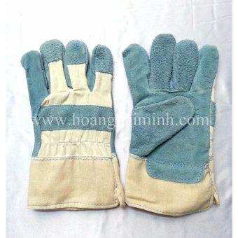 Bộ 5 đôi Găng tay da vải cho thợ mài cắt