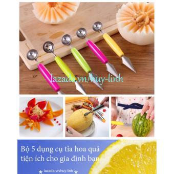 Bộ 5 dụng cụ tỉa hoa quả tiện ích cho gia đình bạn