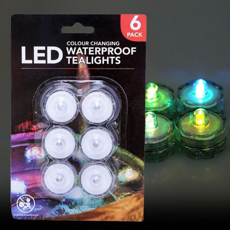 Bảng giá Bộ 6 đèn Led trang trí hồ nước UBL - DH0319