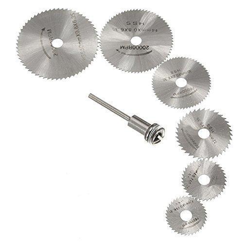 Bộ 6 đĩa cắt bằng thép cho máy đa năng Dremel OEM