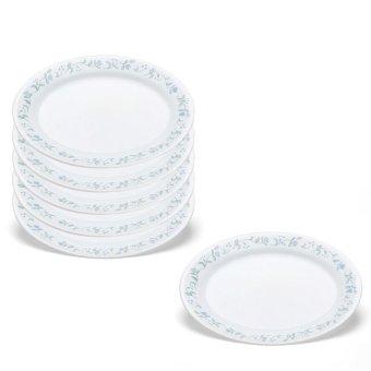 Bộ 6 đĩa thủy tinh oval Corelle 1067551
