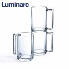 Bộ 6 ly bia thủy tinh Luminarc Fitness 320ml L8040 (Trong suốt)