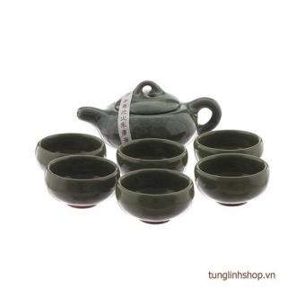 Bộ ấm chén uống trà hình cá 3D