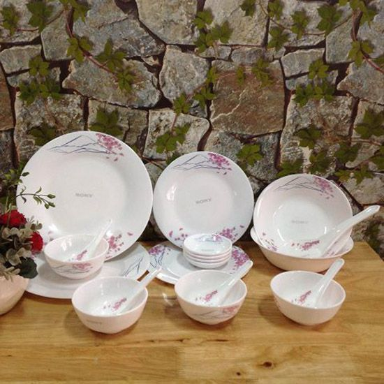 Bộ bàn ăn 19 món Ngọc Phú Sỹ