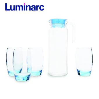 Bộ bình ly thủy tinh 5 món Luminarc Rotterdam Ice Blue J1799 (Xanh) - 10255536 , LU690HLAUM4VVNAMZ-482542 , 224_LU690HLAUM4VVNAMZ-482542 , 279000 , Bo-binh-ly-thuy-tinh-5-mon-Luminarc-Rotterdam-Ice-Blue-J1799-Xanh-224_LU690HLAUM4VVNAMZ-482542 , lazada.vn , Bộ bình ly thủy tinh 5 món Luminarc Rotterdam Ice Blue J1799 (X