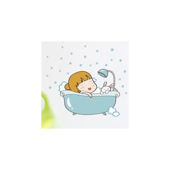 Bộ decal dán phòng tắm - Giờ khắc thư giãn