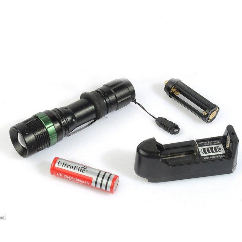 Bảng giá Mua Bộ đèn pin sạc điện siêu sáng Cree Q9 chống thấm nước