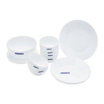 Bộ đồ ăn 12 món White Essence Luminarc (Trắng)
