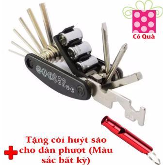 Bộ dụng cụ cầm tay đa năng cá nhân + Tặng còi huýt sáo cho dân phượt