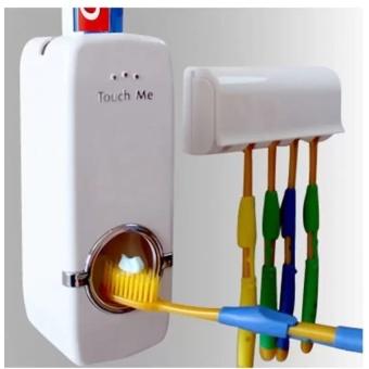 Bộ dụng cụ lấy kem đánh răng tự động và giá treo bàn chải Touch Me - 8531679 , OE680HLAA734DDVNAMZ-13015729 , 224_OE680HLAA734DDVNAMZ-13015729 , 89000 , Bo-dung-cu-lay-kem-danh-rang-tu-dong-va-gia-treo-ban-chai-Touch-Me-224_OE680HLAA734DDVNAMZ-13015729 , lazada.vn , Bộ dụng cụ lấy kem đánh răng tự động và giá treo bàn