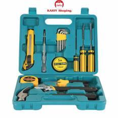 Bộ dụng cụ sửa chữa đa năng gia đình 16 món new 2017 KaiOy (xanh lá )