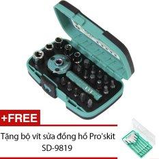 Bộ dụng cụ vặn vít ProsKit SD-2319M + Tặng bộ vít sửa đồng hồ Proskit SD-9819