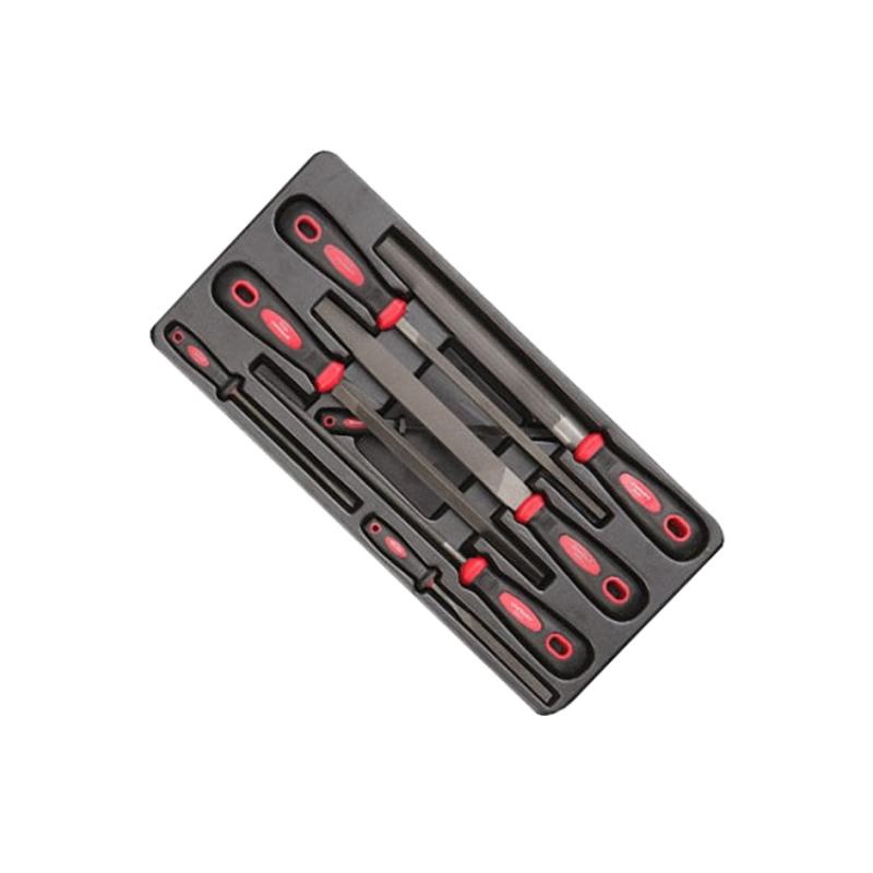 Bộ giũa 8 chi tiết Endura E1921 (Đỏ đen)