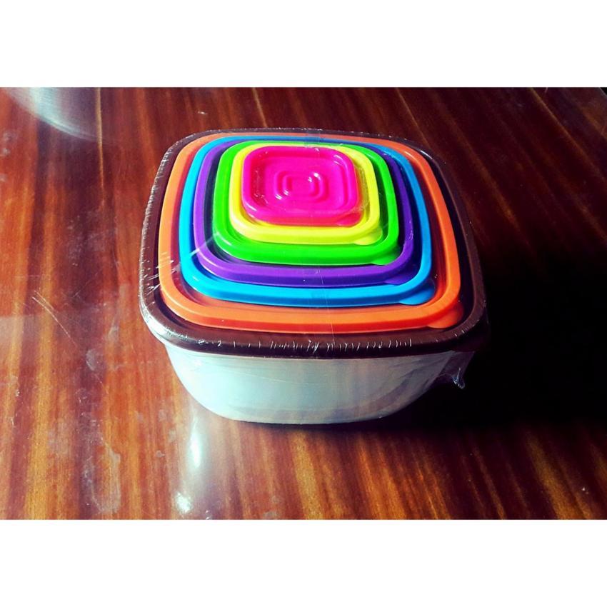 Hình ảnh Bộ hộp nhựa 7 món đựng thực phẩm