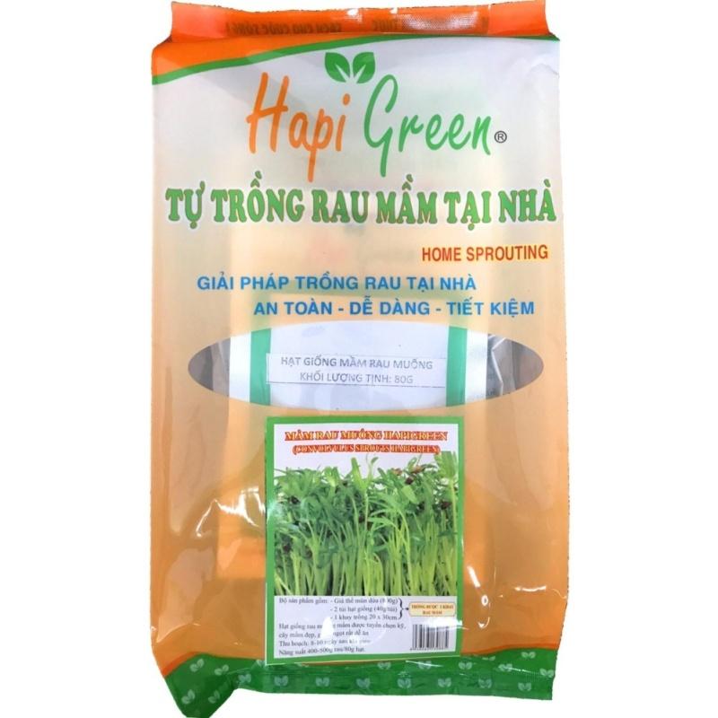Bộ khay tự trồng rau mầm tại nhà - Mầm rau muống HapiGreen