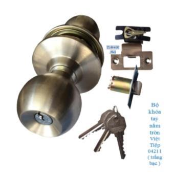 Bộ khóa tay nắm tròn Việt tiệp 04211 ( Trắng Bạc) - 8824211 , VI011HLAA4RSH0VNAMZ-8786374 , 224_VI011HLAA4RSH0VNAMZ-8786374 , 399000 , Bo-khoa-tay-nam-tron-Viet-tiep-04211-Trang-Bac-224_VI011HLAA4RSH0VNAMZ-8786374 , lazada.vn , Bộ khóa tay nắm tròn Việt tiệp 04211 ( Trắng Bạc)