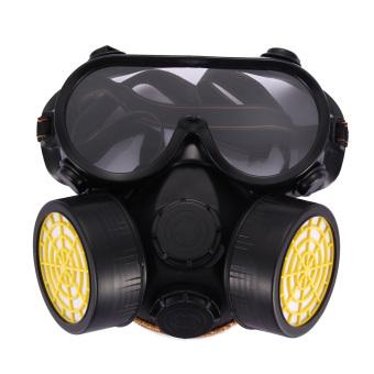 Bộ Mặt nạ Khí ga Hóa học Công nghiệp Chống Bụi kèm mắt kính thủy tinh (Quốc tế)