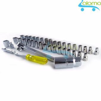 Bộ máy khoan kiêm tháo lắp vít dùng pin 48 chi tiết Joust Max
