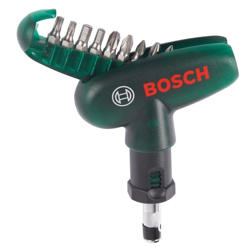 Bộ mũi vặn vít cầm tay 10 chi tiết Bosch 2607019510