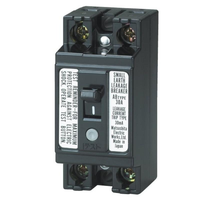 Bảng giá Mua Bộ ngắt mạch an toàn Panasonic BJS30308A2 (Đen) - BJS3030NA2