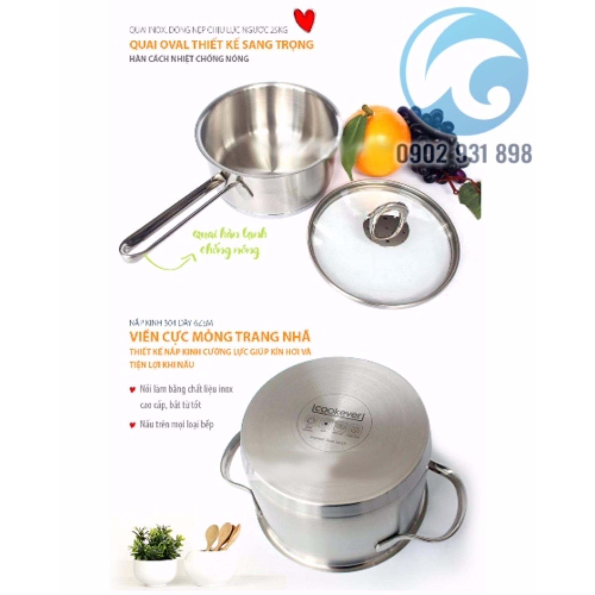 Bộ Nồi Inox Cookever 5 món
