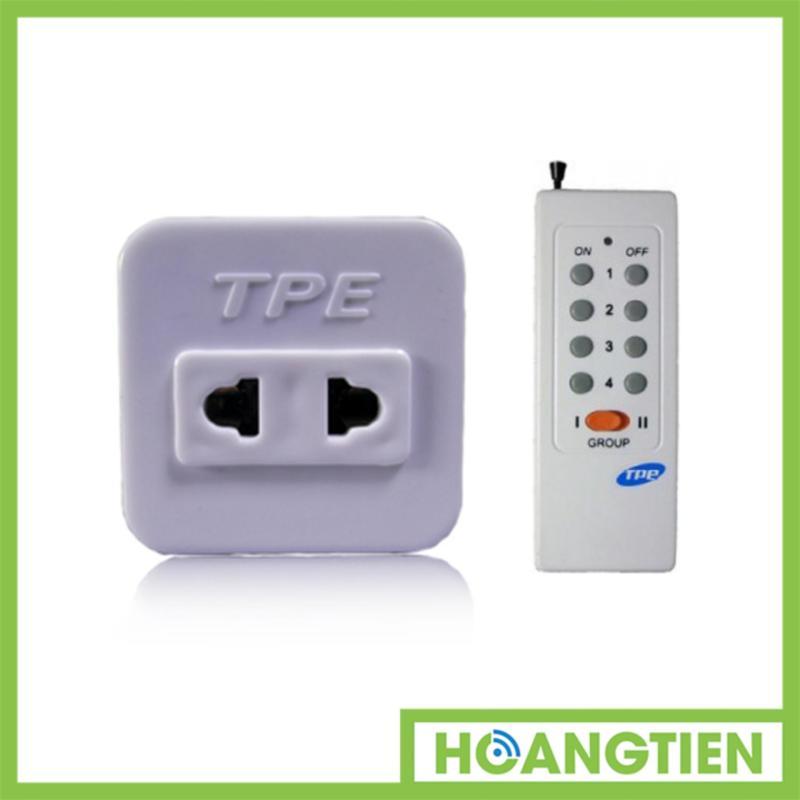 Bộ ổ cắm điều khiển từ xa hồng ngoại RF TPE TF10 + Remote 16 nút RM01