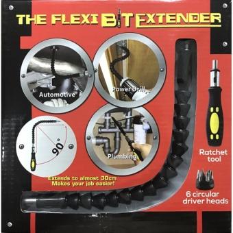 Bộ tua vít điều hướng lực + 6 đầu vít FlexiBit Extender