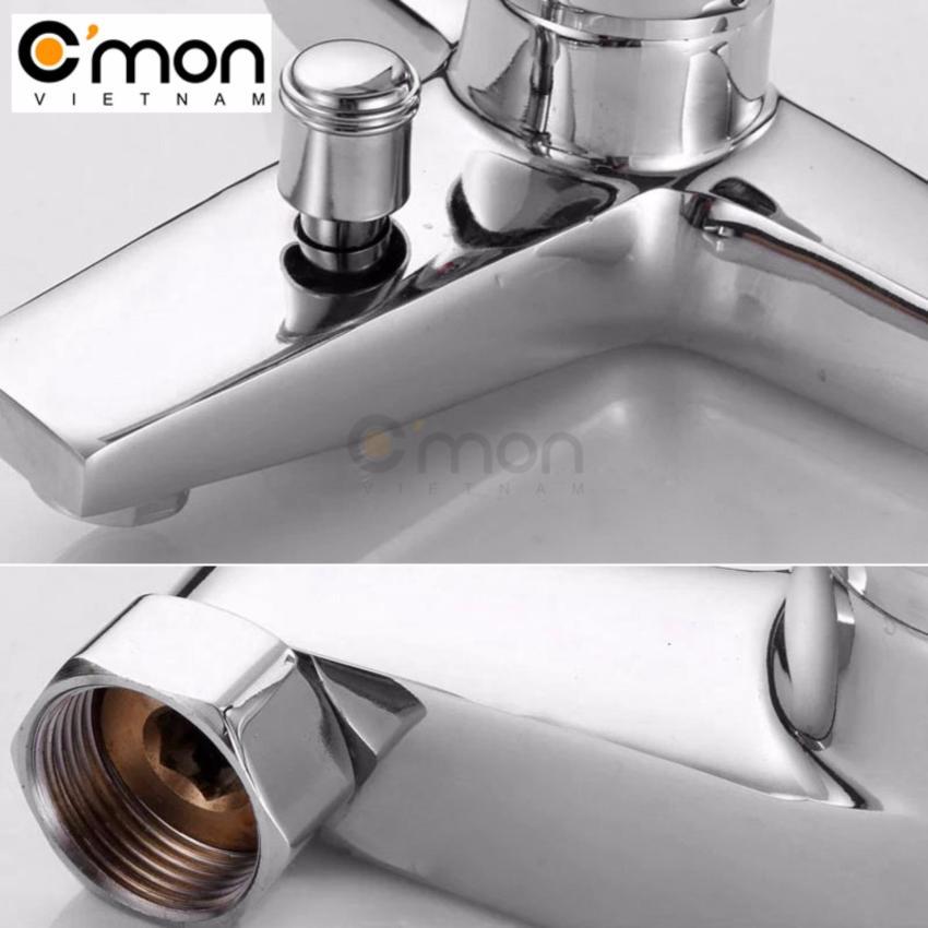 Bộ vòi sen tắm nóng lạnh tăng áp 400%, 3 chế độ nước C'MON CB-13
