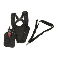 BolehDeals Strimmer Double Breasted Shoulder Harness Strap +Harness Strap w/ Carry Hook - intl