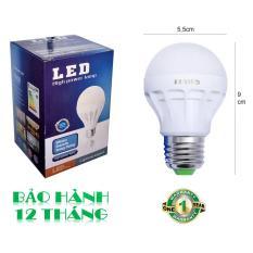 Bóng đèn LED 5W tiết kiệm điện sáng trắng POSSON LB-E5
