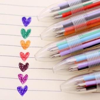 Bút Bi 10 Màu Đa Năng (Giao Màu Ngẫu Nhiên)