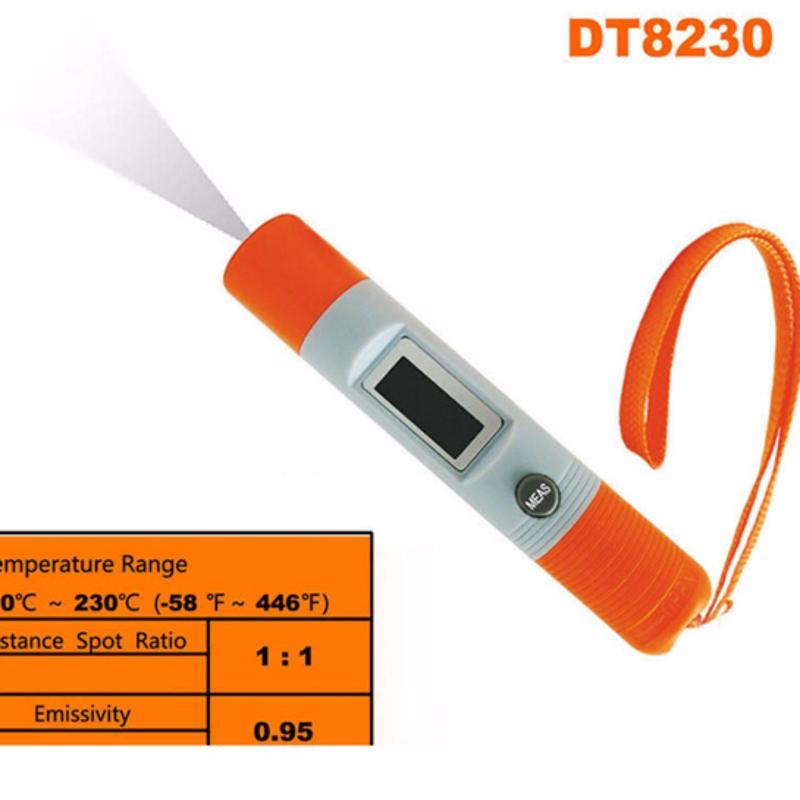 Bút đo nhiệt độ thông minh DT8230 (Vàng)