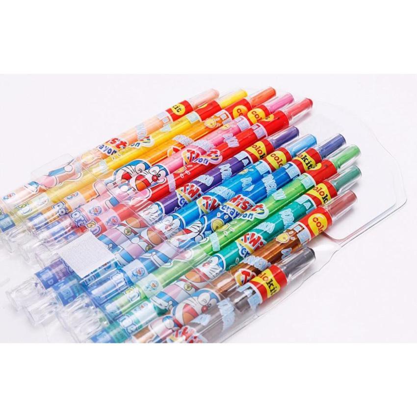 Bút Sáp Vặn Colokit Crayon TCR-C05