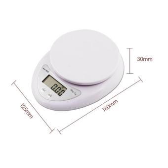 Cân điện tử để bàn loại 5kg dùng cho nhà bếp