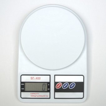 Cân điện tử nhà bếp 10kg kt10 (trắng)