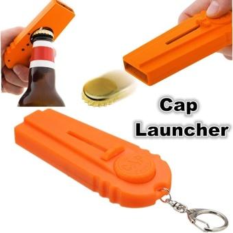 Cap Zappa Bottle Opener Opening Cap Launcher Orange Caps Flying - intl