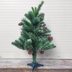 Nơi Bán Cây thông Noel 3 loại lá gắn trái thông 0,9 m  M&N Toys