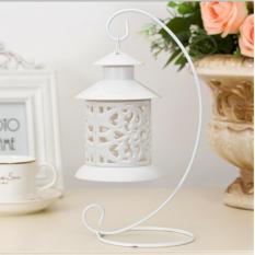 Chân nến trang trí cổ điển Candlestick (trắng)