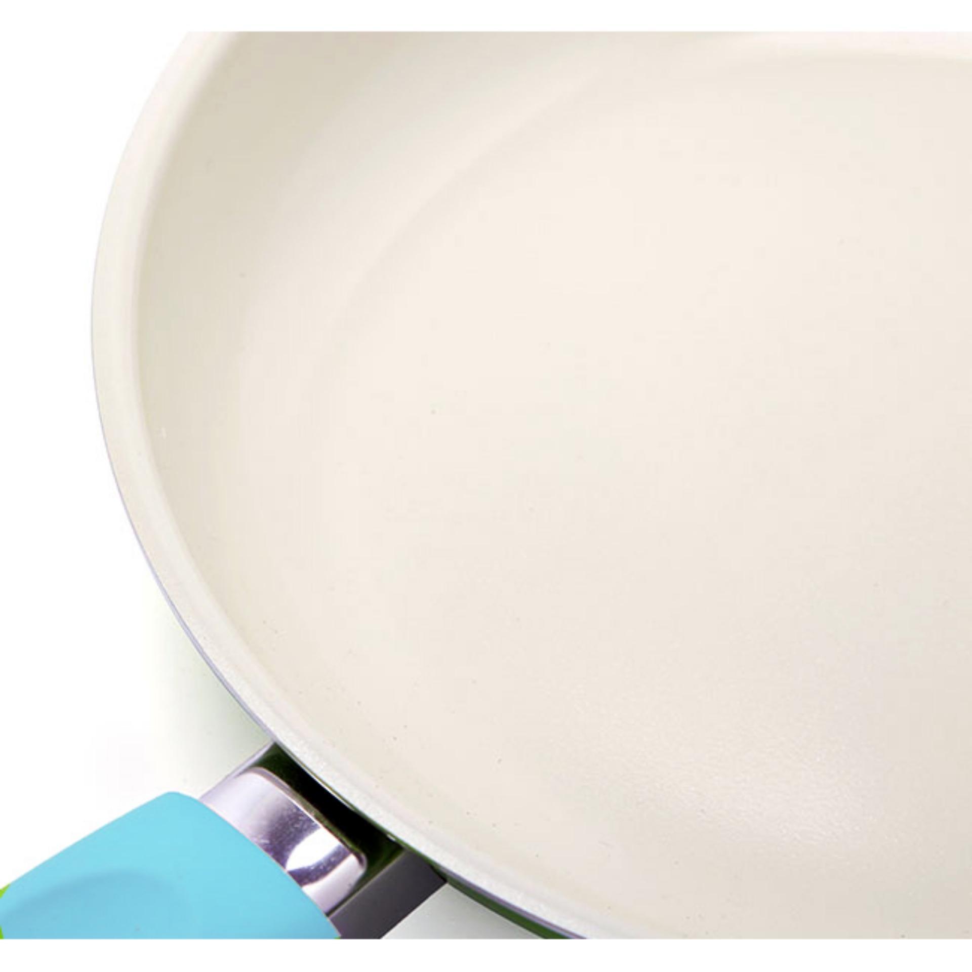 Chảo ceramic chống dính 24cm Comet CH11-24 (Xanh bạc hà)
