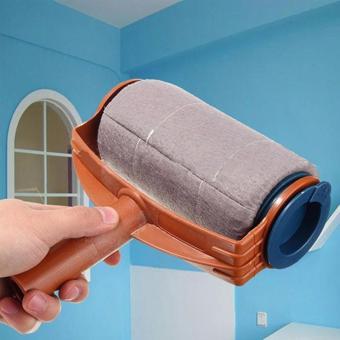 Chổi lăn sơn cầm tay thiết kế thông minh(tặng móc khóa da)