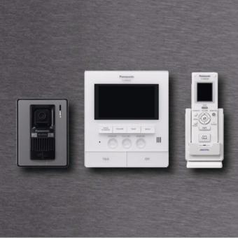 Chuông cửa có màn hình màu Panasonic VL-SVN511VN màu Xám đen