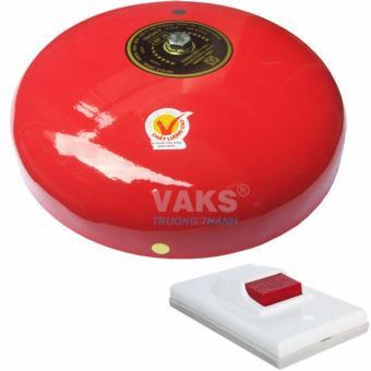 Chuông điện dạng đĩa 8 inch - 97dB + tặng kèm nút nhấn NC6-306