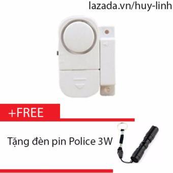 Chuông từ báo động chống trộm thông minh + Free đèn pin police 3W - 8199585 , HU612HLAA34OI6VNAMZ-5457588 , 224_HU612HLAA34OI6VNAMZ-5457588 , 65000 , Chuong-tu-bao-dong-chong-trom-thong-minh-Free-den-pin-police-3W-224_HU612HLAA34OI6VNAMZ-5457588 , lazada.vn , Chuông từ báo động chống trộm thông minh + Free đèn pin po