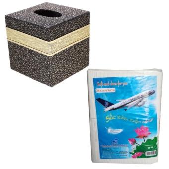 Combo 1 hộp đựng giấy ăn hoa văn + 1 kg giấy ăn hàng không cao cấp - 8688180 , PH622HLAA7DVL2VNAMZ-13656976 , 224_PH622HLAA7DVL2VNAMZ-13656976 , 220000 , Combo-1-hop-dung-giay-an-hoa-van-1-kg-giay-an-hang-khong-cao-cap-224_PH622HLAA7DVL2VNAMZ-13656976 , lazada.vn , Combo 1 hộp đựng giấy ăn hoa văn + 1 kg giấy ăn hàng