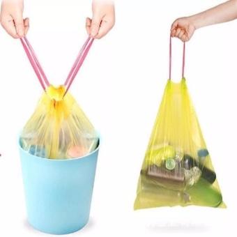 Combo 2 cuộn 30 túi đựng rác có dây rút tiện lợi