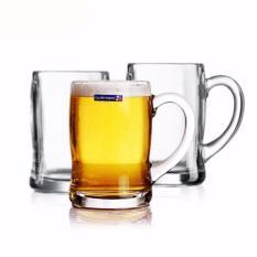 Combo 6 ly bia thủy tinh Luminarc Benidorm 450ml G2616 (Trong suốt)